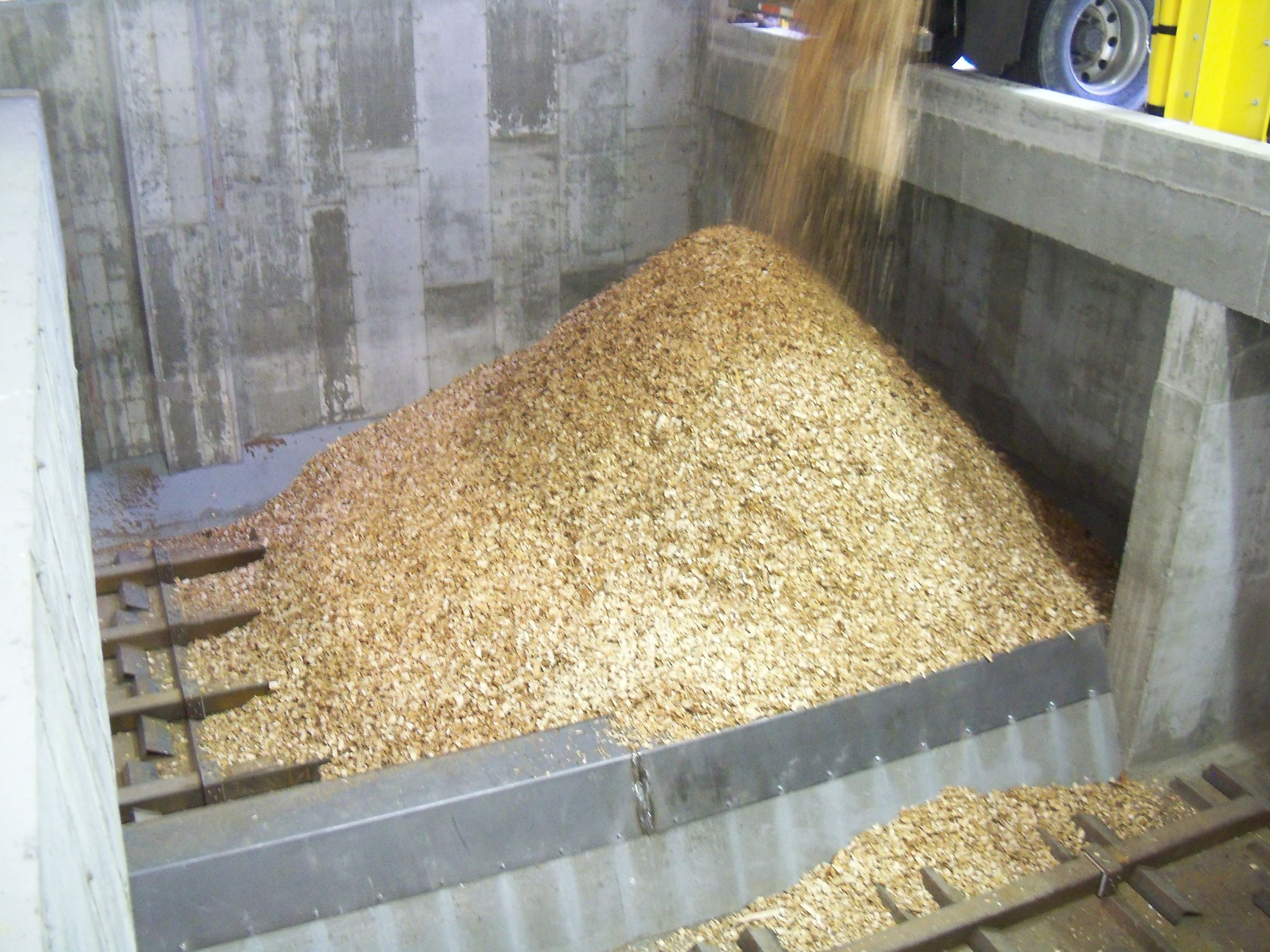 Biomass Chip Storage